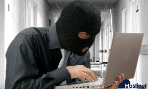 ladrón identidad internet