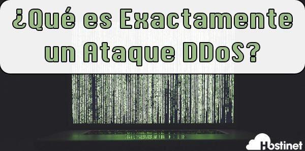 ¿Qué es Exactamente un Ataque DDos?