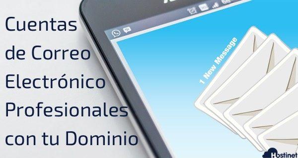 Cuentas de Correo Electrónico Profesionales con tu Dominio