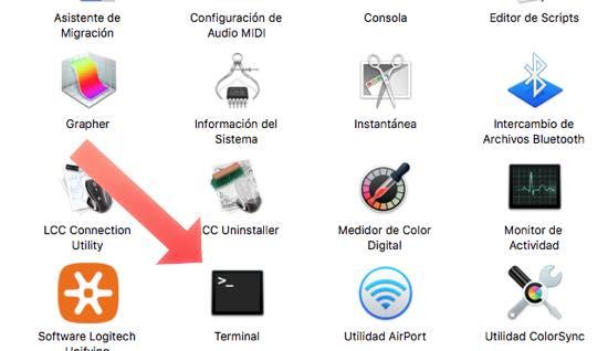 terminal en Mac Os X