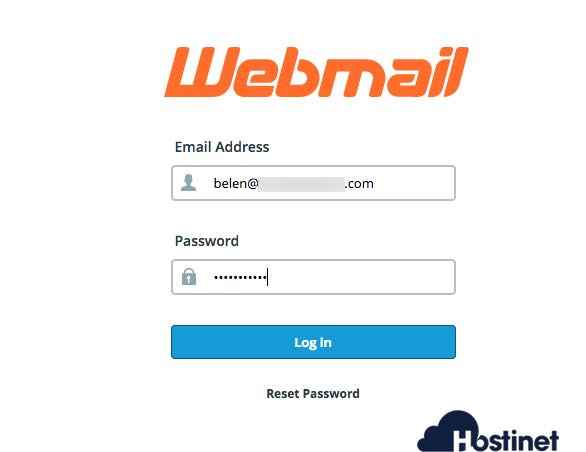 pagina ingreso webmail en Hostinet