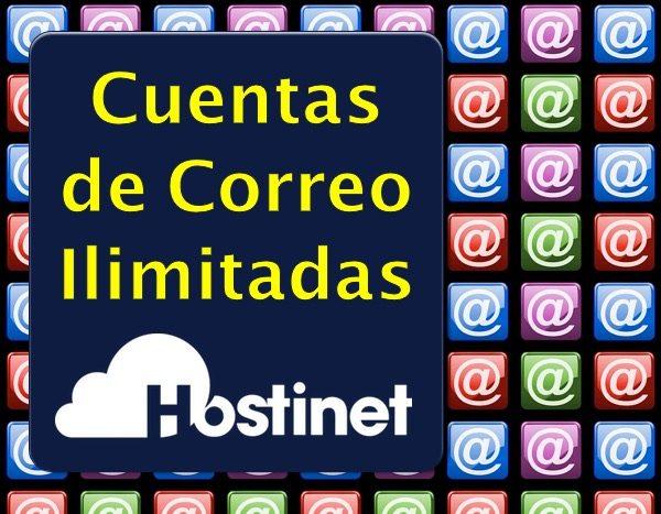 Cuentas de Correo Ilimitadas en Hostinet