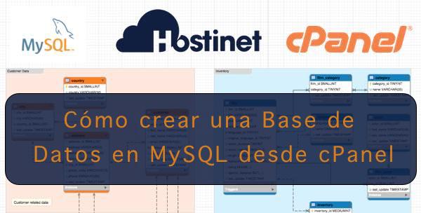 Cómo crear una Base de Datos en MySQL desde cPanel
