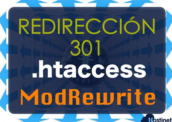 Cómo hacer una redirección 301 por .htaccess con ModRewrite?