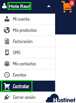 Hostinet Acceso Clientes Contratar