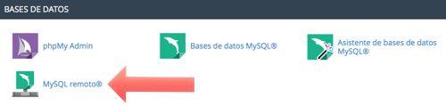 acceder a mysql remoto