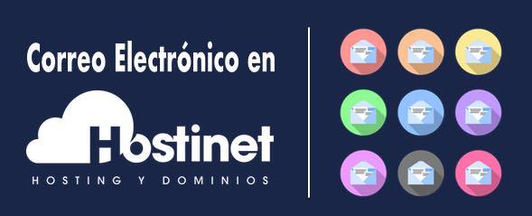 crear cuentas de correo electrónico en Hostinet
