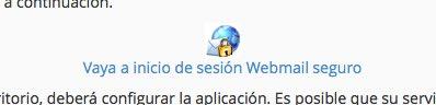 webmail seguro en cpanel