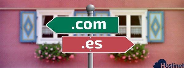 Qué Dominio Registrar, un Dominio .com o un Dominio .es?