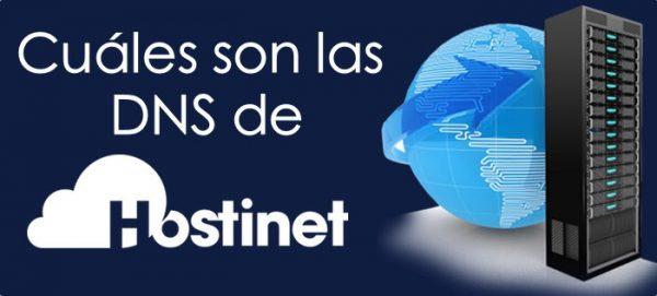 cuales son las DNS de Hostinet