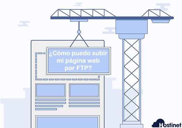 Grua web subir Hostinet
