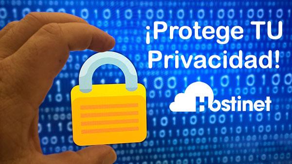 Hostinet Candado Privacidad