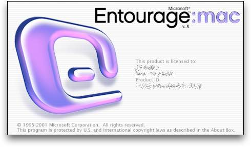 Configurar entourage mac