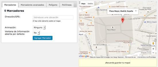 guardar mapa - Wp Google Maps
