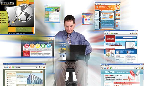 Páginas web en modo ventanas