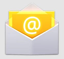 App predeterminada de correo en Android