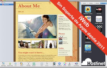 IWeb - Sin Soporte de Apple desde 2011