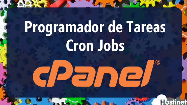 Programador de Tareas / Cron Jobs del panel de control cPanel