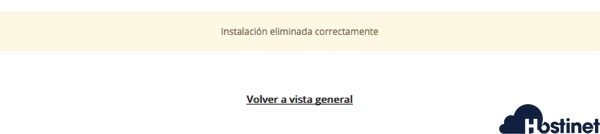 instalacion eliminado wordpress softaculous - Hostinet