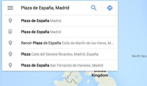 añadir direccion en Google Maps