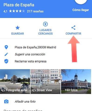 Compartir mapas