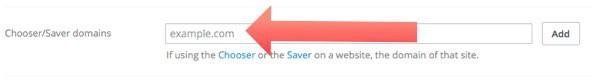añadir el dominio en Dropbox