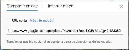 insertar mapas
