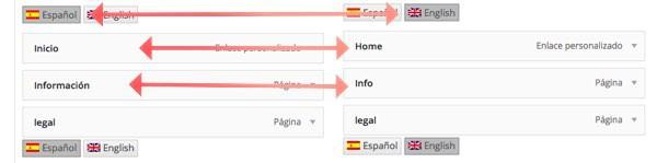 español o inglés