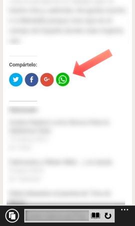 boton whatsapp dispositivo movil