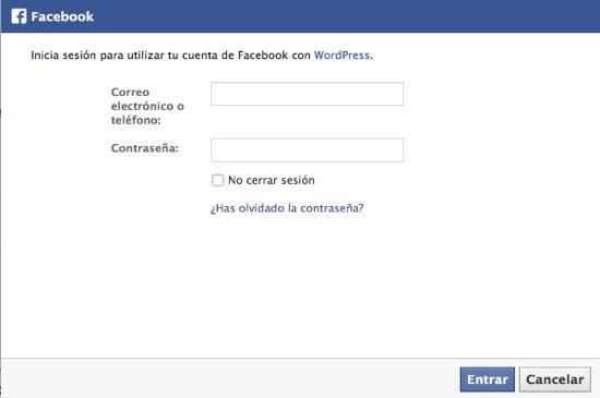 Comentar con Facebook