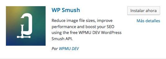 WP Smush plugin