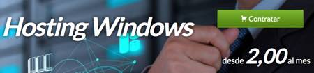 contratar host windows en Hostinet