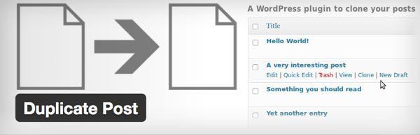 duplicate post para WordPress