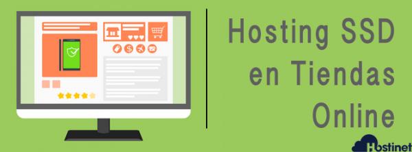 Hosting SSD en Tiendas Online - Comercio Electrónico