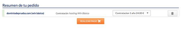 pago win basico en hostinet