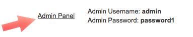 click en panel administracion Magento