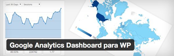 Google Analytics Dashboard para WordPress