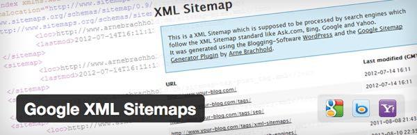 instalar Google XML Sitemaps