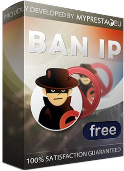 Caratula de BAN IP FREE