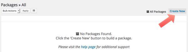 crear package con Duplicator