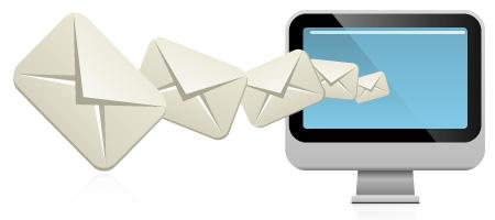emails volando