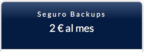 seguro backups en Hostinet