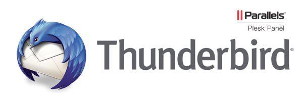 configurar email en thunderbird - plesk