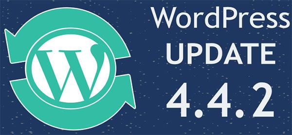 WordPress Versión 4.4.2