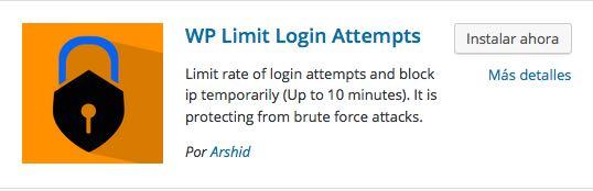 Login Attempts para WordPress