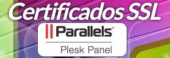 añadir certificado ssl plesk