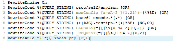 htaccess codigo prevencion anti hackeo