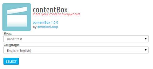 ContentBox Multilenguaje