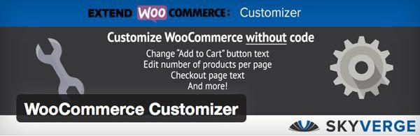 WooCommerce Customizer para WordPress