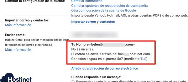 confirmacion smtp cemail externo gmail